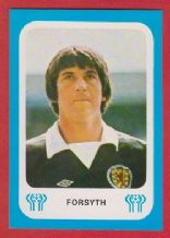 Scotland Tom Fosryth Glasgow Rangers